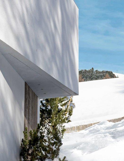 St. Moritz sous la neige